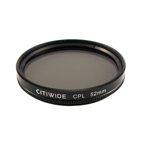 Поляризаційний CPL фільтр 52мм CITIWIDE