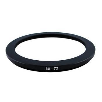 Понижающее степ кольцо 86-72мм для Canon, Nikon