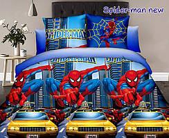 Детский евро комплект постельного белья Spider-man new