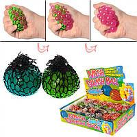 Игрушка-антистресс Виноград 5 см, пузырьки, в пакете (24) (144) №MS0415
