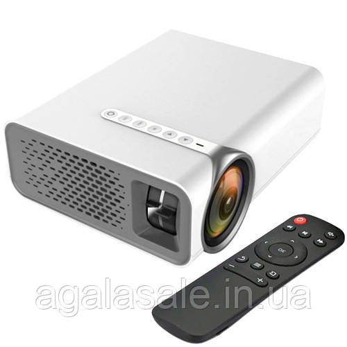 """Проектор мультимедійний портативний LCD 50-130"""" 1800лм AC3 YG520"""