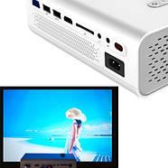 """Проектор мультимедійний портативний LCD 50-130"""" 1800лм AC3 YG520, фото 2"""