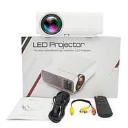 """Проектор мультимедійний портативний LCD 50-130"""" 1800лм AC3 YG520, фото 3"""