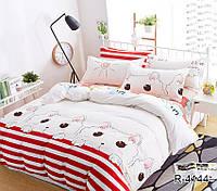 Детский евро комплект постельного белья с компаньоном R4144