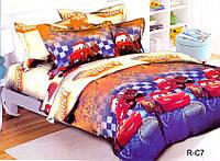 Детский полуторный комплект постельного белья R-C7