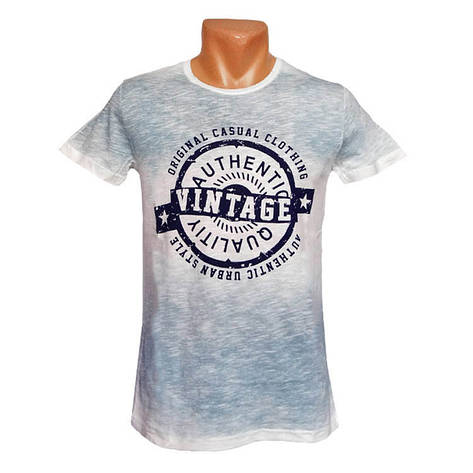 Модная футболка Vintage, фото 2