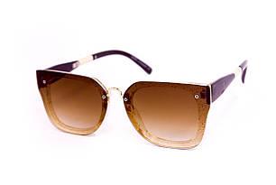 Солнцезащитные женские очки UV400 Коричневые (8160-4)
