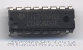 Микросхема CD4050BE DIP16