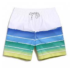 Мужские светлые шорты Qike, фото 3