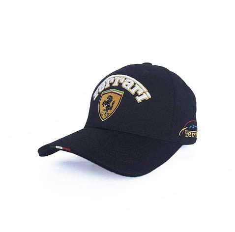 Феррари Мужская кепка, черный, фото 2
