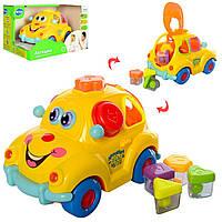 Детская музыкальная развивающая игрушка Крошка Автошка