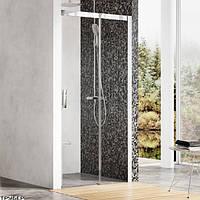 MSD 2-100 R satin (Transparent) Душевая дверь Ravak 0WPA0U00Z1