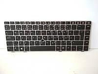 800-105 Клавиатура HP EliteBook 8460P (Silver,с Point stick ). Оригинальная клавиатура. P/N: