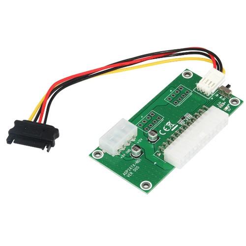 Синхронизатор для подключения запуска 2 блоков питания ATX ADP2ATX-N01