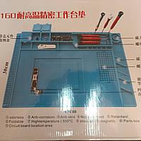 Термостойкий коврик (S-160) 450*300mm для разборки и пайки телефона