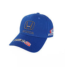 Кепка автомобільна Honda, синій