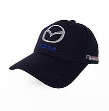Автомобільна кепка Mazda, синій