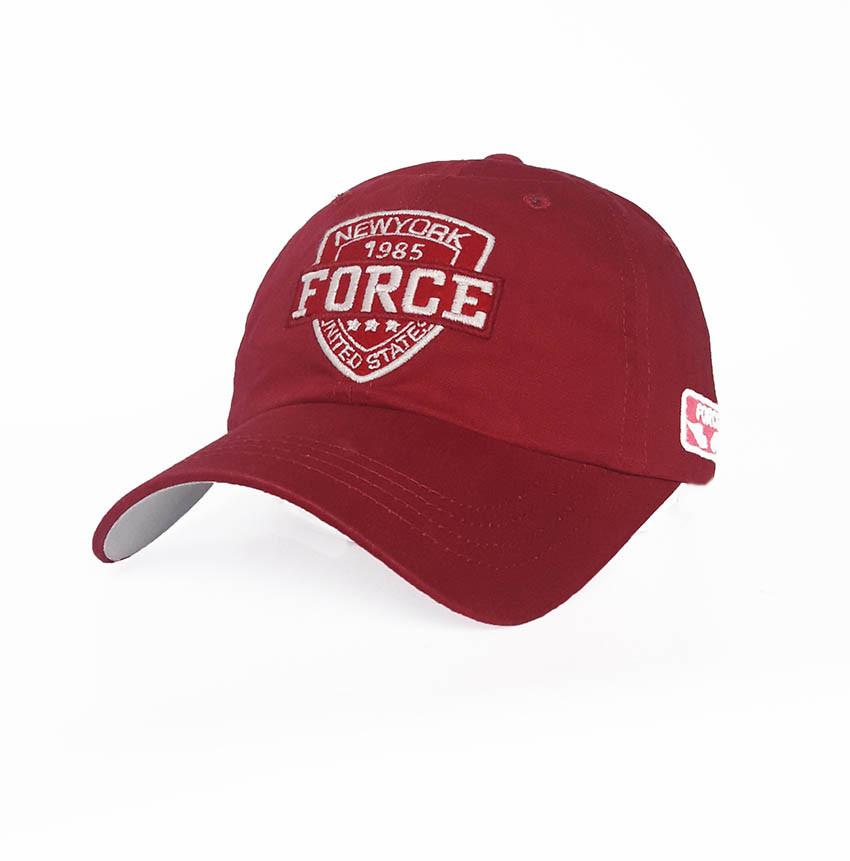 Мужская бейсболка Force, красный