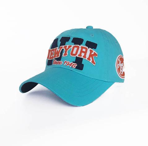 Чоловіча кепка New York, блакитний, фото 2