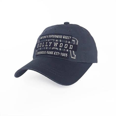 Стильная мужская кепка Hollywood, синий, фото 2
