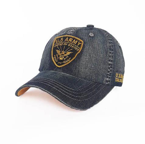 Стильная мужская кепка U.S Army, синий, фото 2