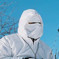"Белая, защитная маска ""Canadian Coverup Facemask"""