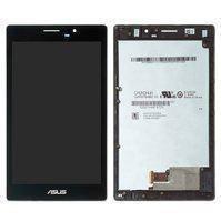 Дисплейный модуль (дисплей и сенсор) для Asus ZenPad 7.0 Z370C, черный, с рамкой, #TV070WXM-TU1