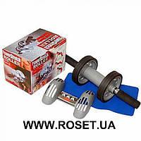 Тренажер-колесо для пресса Power Stretch Roller, фото 1
