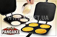 Двусторонняя сковорода для оладьей - Perfect Pancake Pan