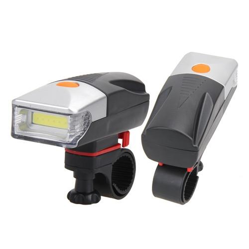 Ліхтар фара на кермо велосипеда, яскравий COB LED 5Вт