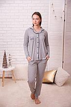 Женская пижама на пуговицах  96268