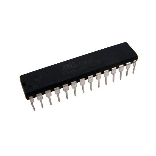 Чип ATMEGA8-16PU DIP28, Микроконтроллер 8-бит