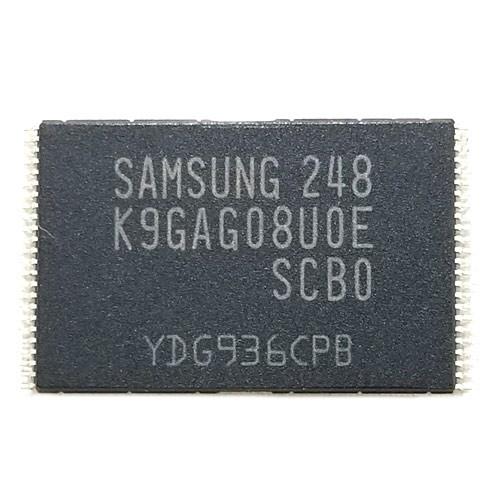 Чип Samsung K9GAG08U0E-SCB0 TSOP48, NAND Flash 16ГБ