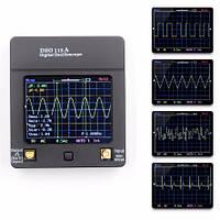 Портативный осциллограф с сенсорным TFT экраном 2.4″ (2MHz, 2мВ/Дел, 5Msp, 1 канал.) JYETECH DSO112A