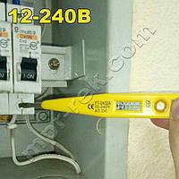Индикаторная отвертка детектор напряжения YINTE YT-0402A с ЖК дисплеем и индикатором