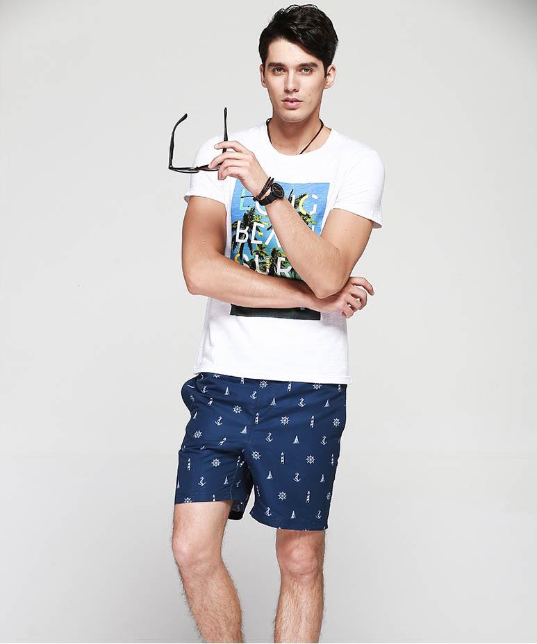 Пляжные мужские шорты Qike