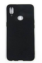 Панель DENGOS Carbon для Samsung Galaxy A10s (black)