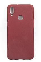 Панель DENGOS Carbon для Samsung Galaxy A10s (red)