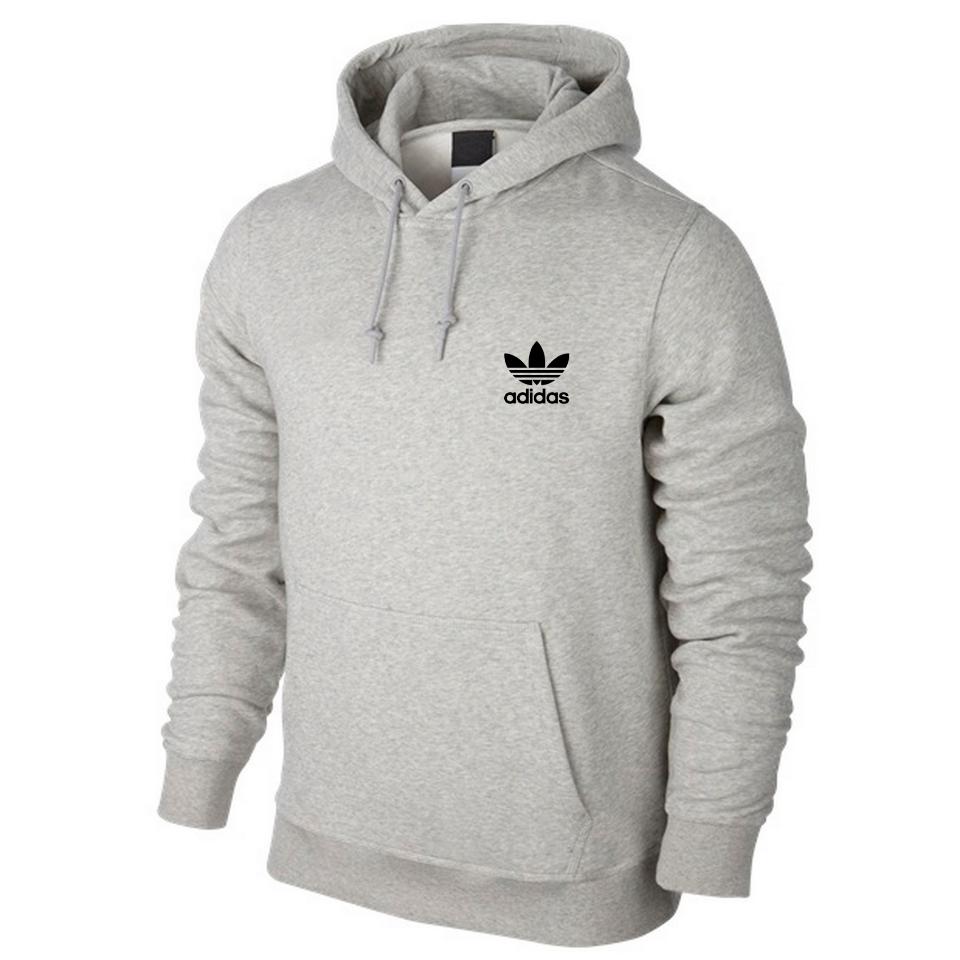 Спортивная мужская кофта Adidas, серая