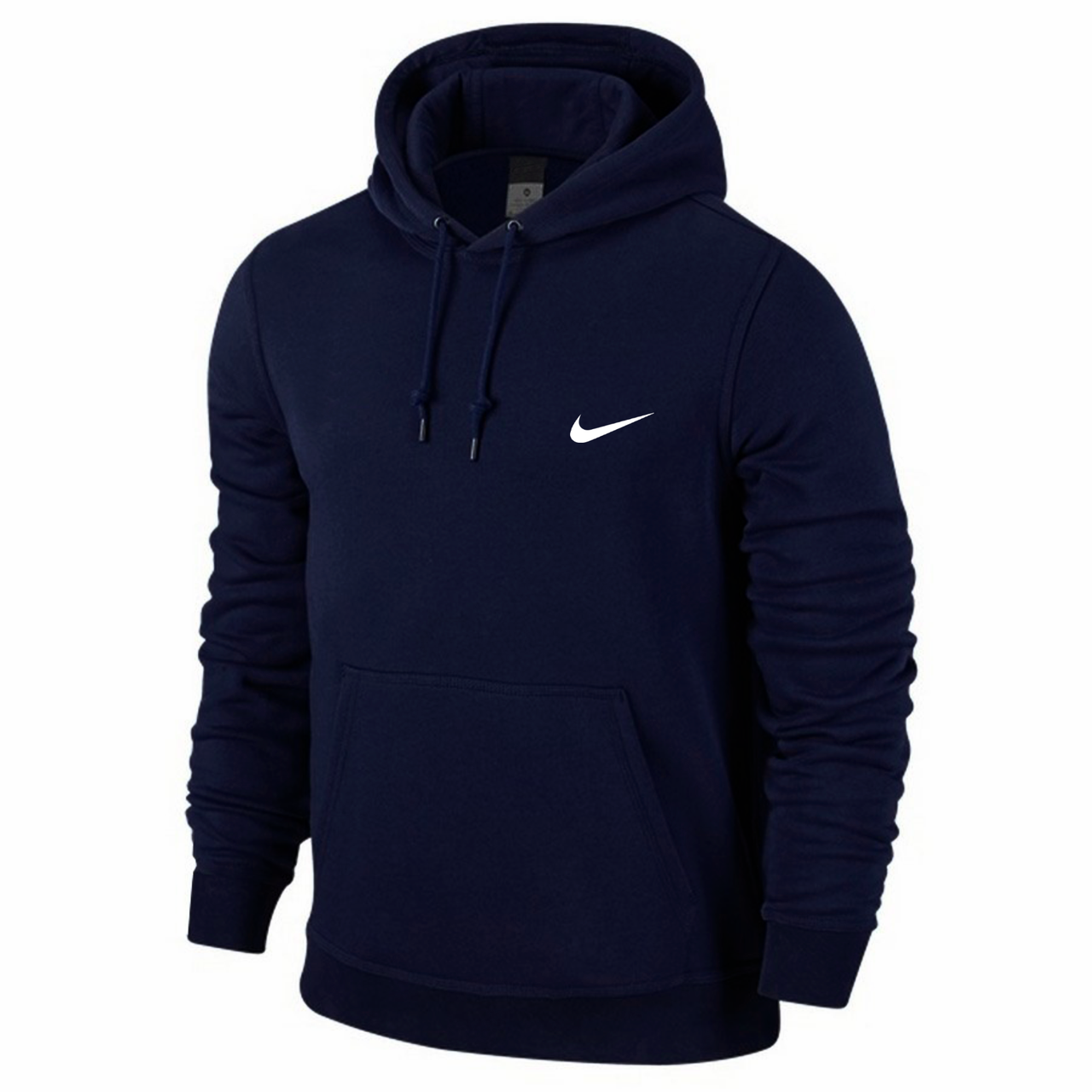 Толстовка мужская кенгуру Nike, синяя