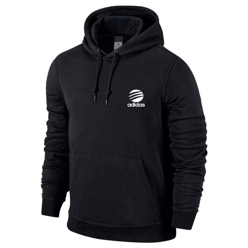 Толстовка мужская кенгуру Adidas, черная