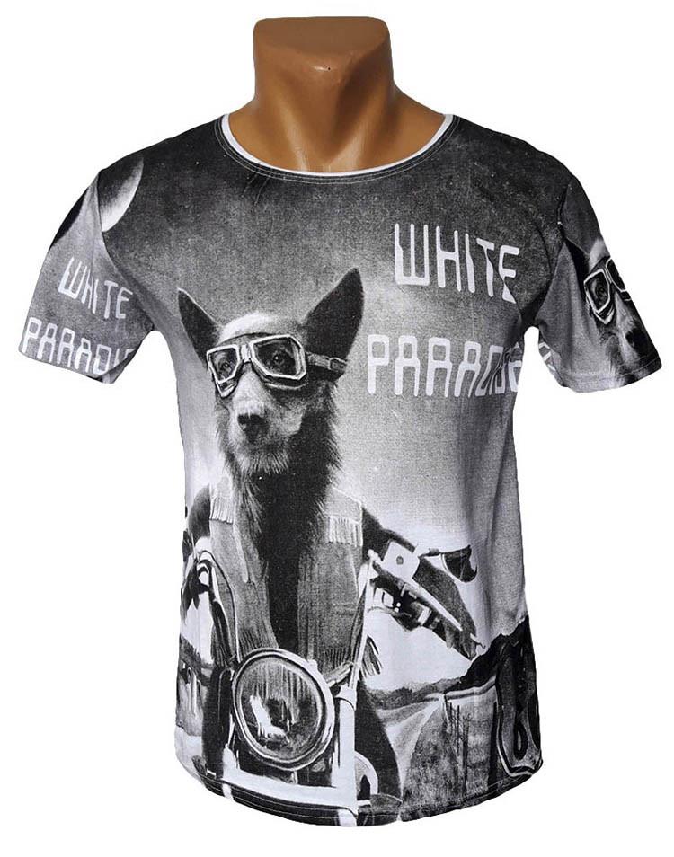 Красивая футболка White Paradise
