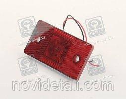 Фонарь габаритный боковой 24В Грузовые Авто (красный, светодиод)