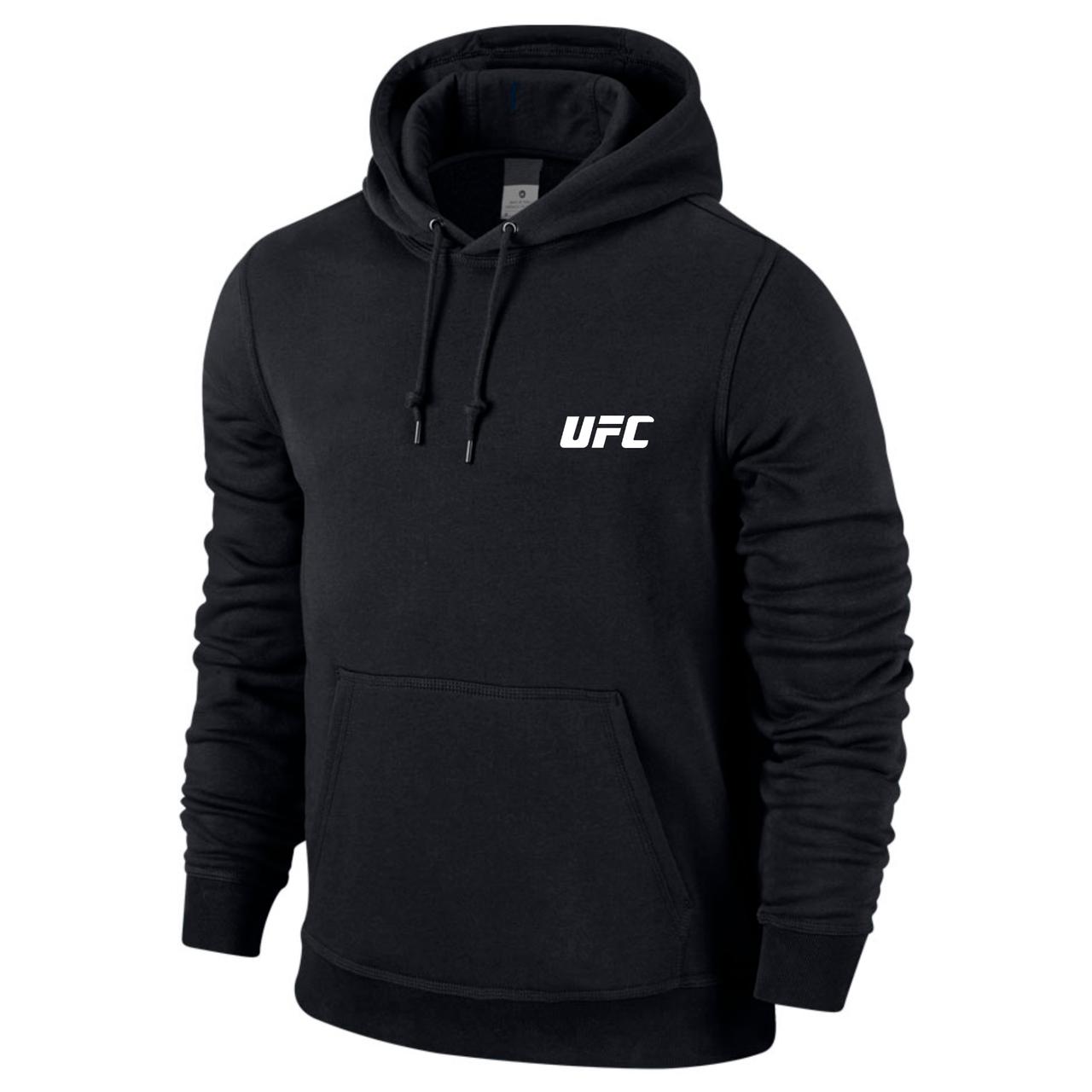 Спортивная мужская кофта UFC, черная
