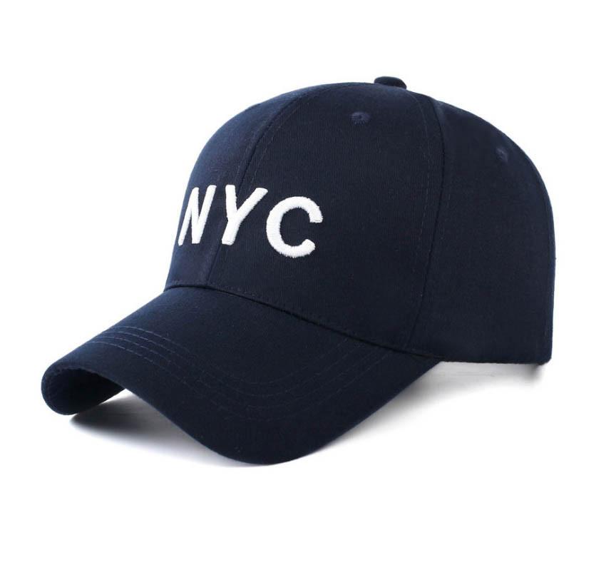 Мужская бейсболка NYC, синий