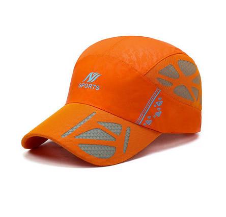 Стильная бейсболка, оранжевый, фото 2
