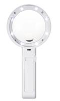 Лупа-трансформер ручна, настільна Magnifier NO.FS75DC з підсвічуванням