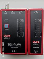 Тестер кабеля UNI-T UT681C для интерфейса RJ45 RJ11 BNC