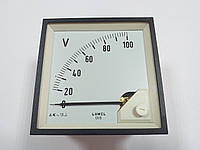Аналоговый вольтметр LUMEL EA 19N E611 100V. Польша с НДС