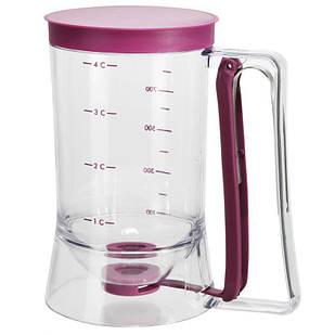 Диспенсер для жидкого теста Supretto Home Batter Dispenser 900 мл (4677)